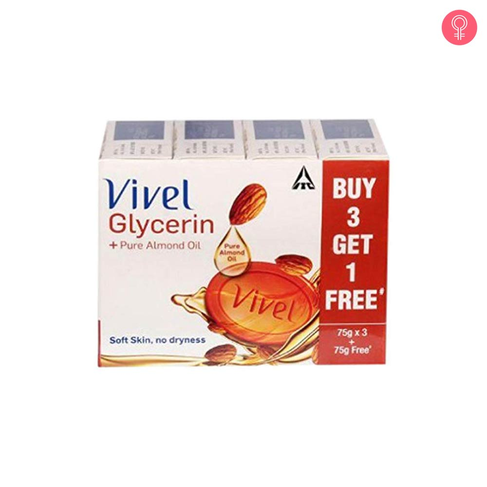 Vivel Glycerin Pure Almond Oil Soap