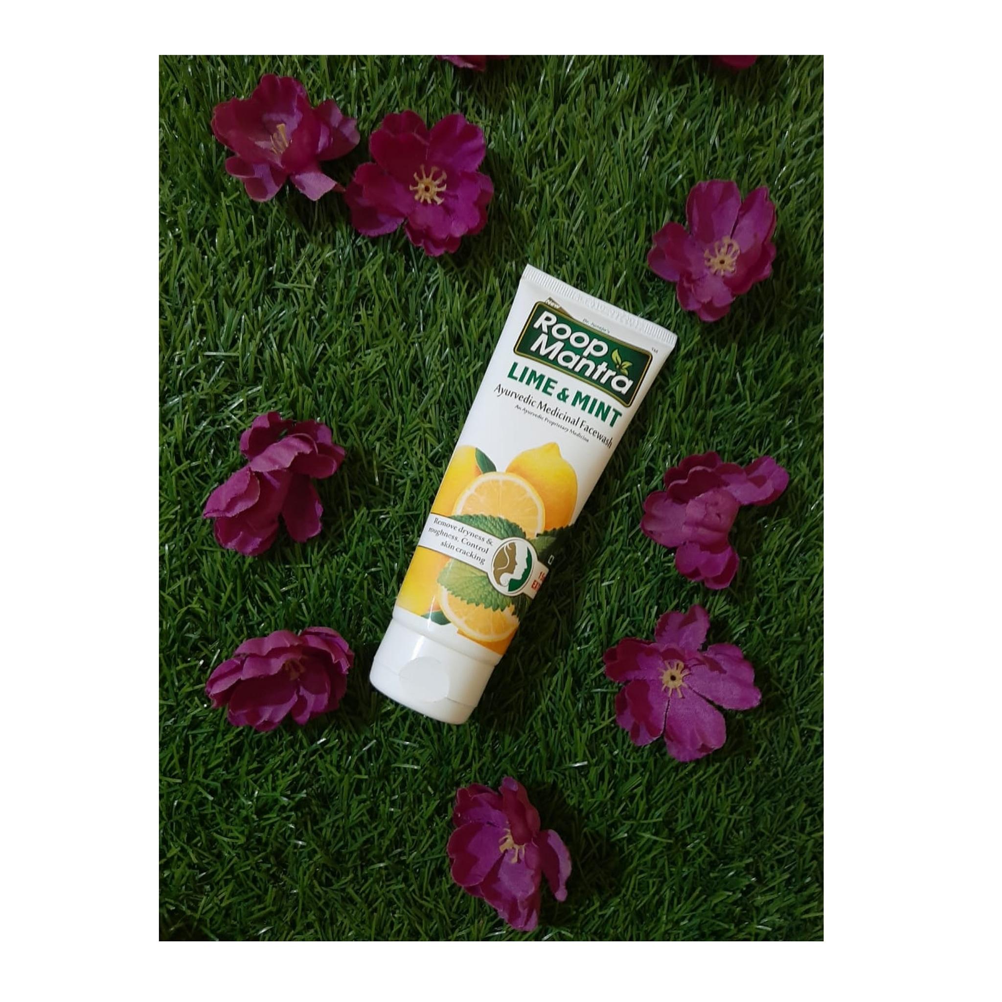 Roop Mantra Lime & Mint Face Wash-Refreshing face wash-By aprajita_thakur