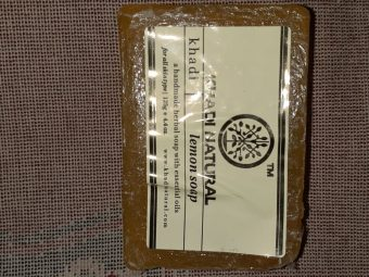 Khadi Natural Lemon Soap -Does not dry out skin-By aden