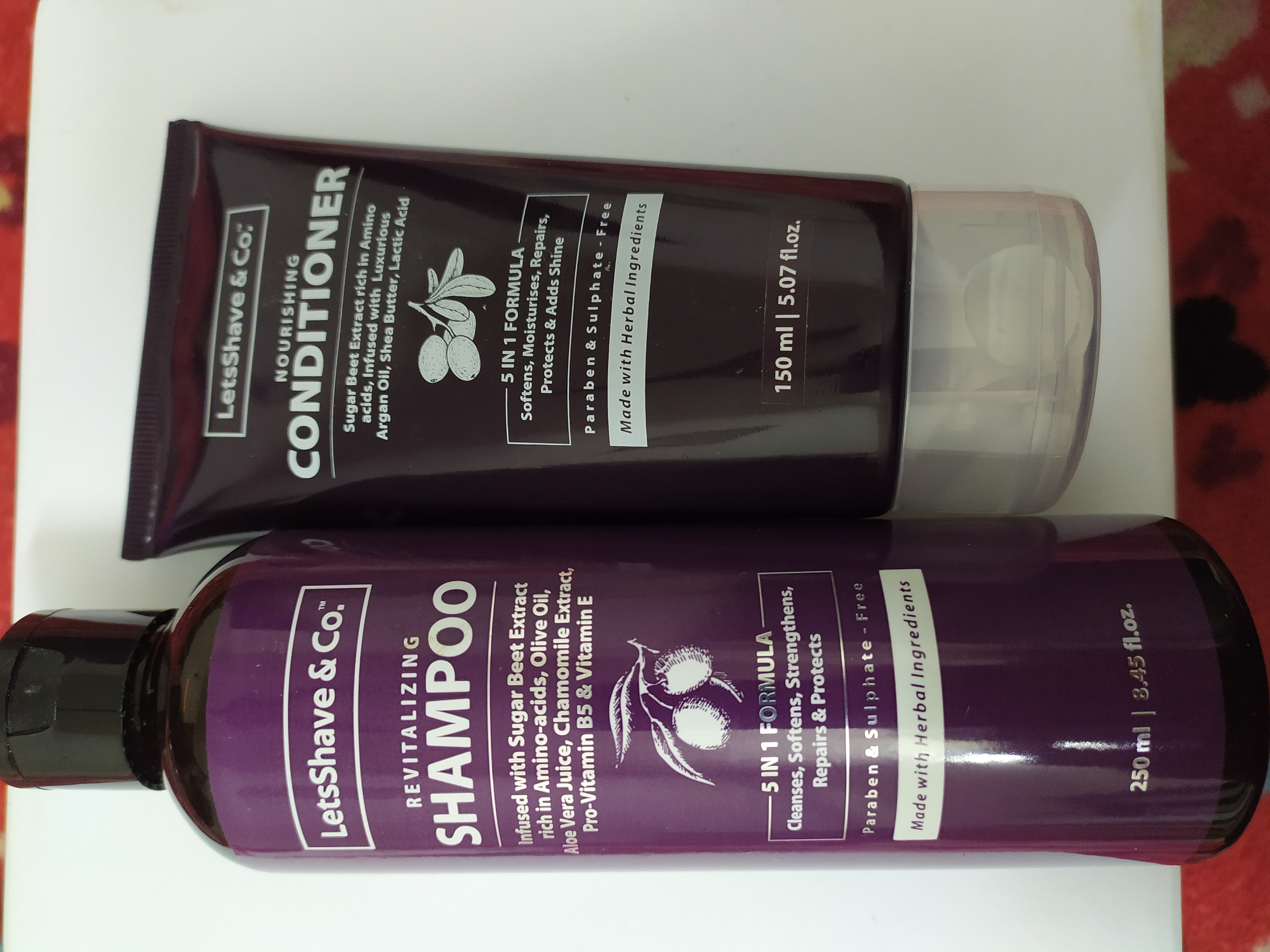 LetsShave Shampoo Conditioner Pack-Best brand for hair-By niytee_786