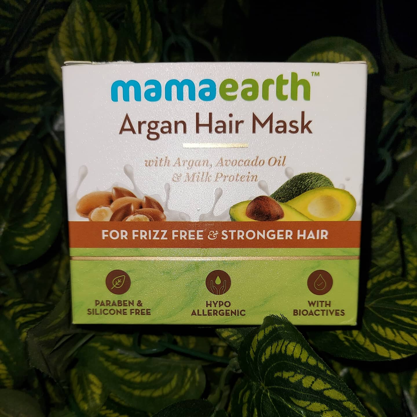 Mamaearth Argan Hair Mask-Extremely helpful for frizzy hair-By alittleflaunt-1