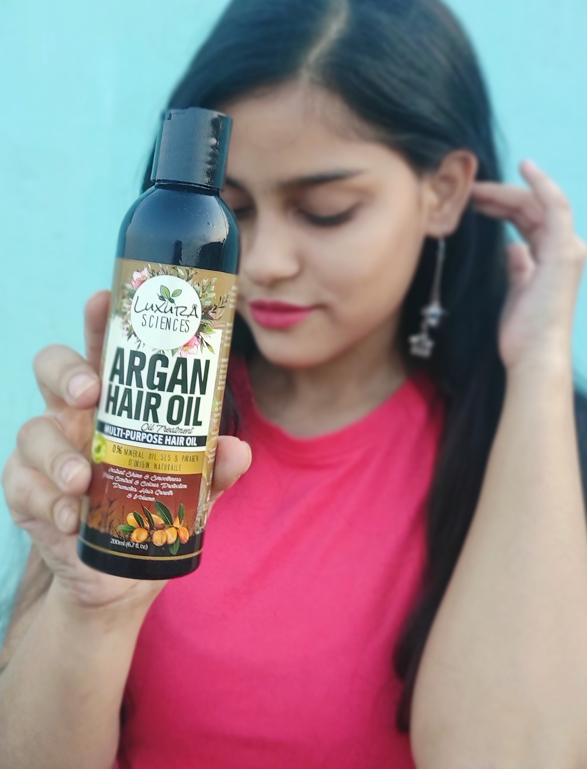 Luxura Sciences Argan Hair Oil 200 ml-Absolutely Loving-By shireenjamil-1