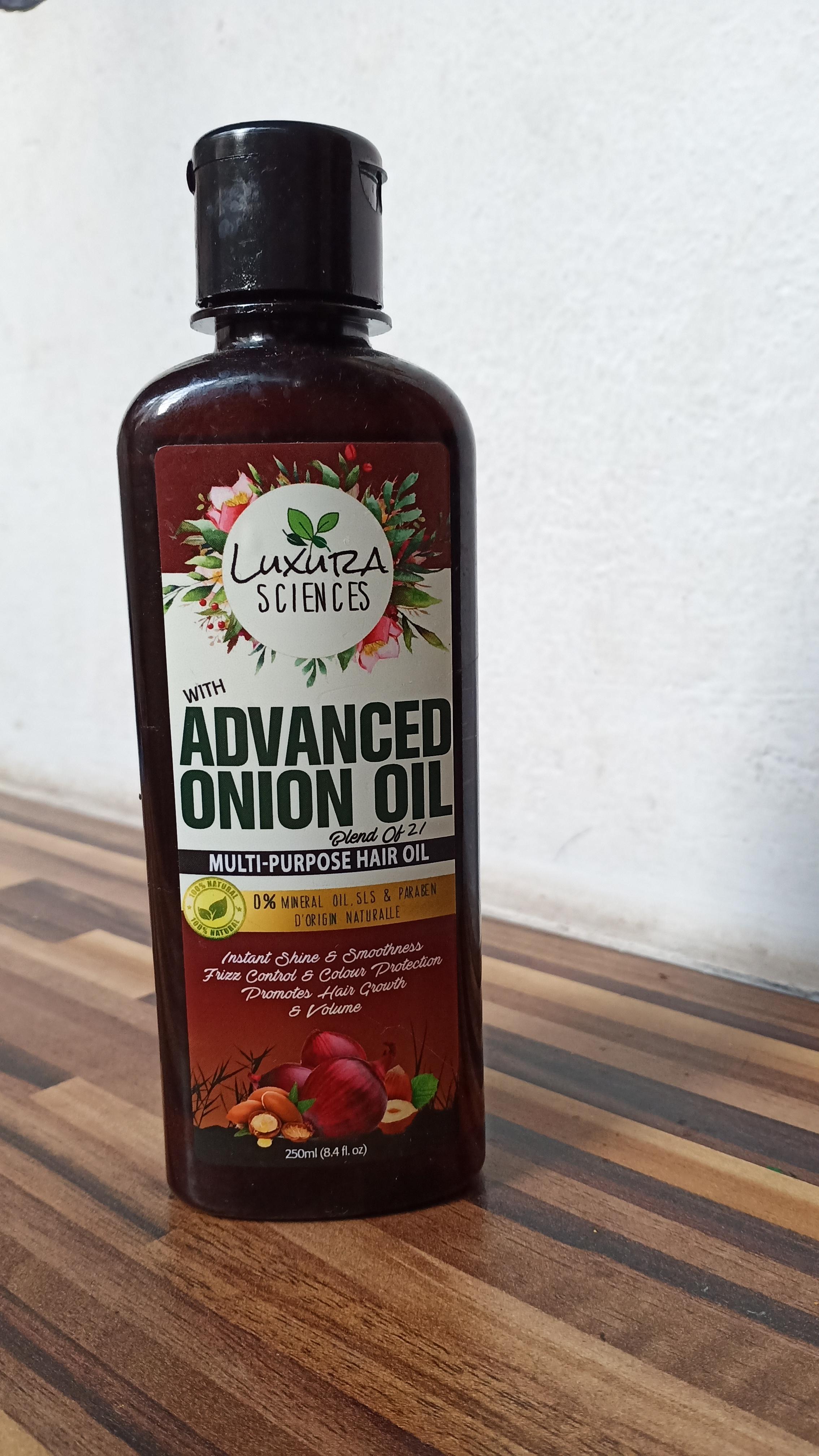 Luxura Sciences Advanced Onion Oil 250 ml-Onion oil-By ahana_sengupta