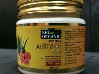 Indus Valley Bio Organic Sun Guard Aloe Vera Gel With Lemon & Orange-SPF 22 -Good for summers!-By anjali_jalan