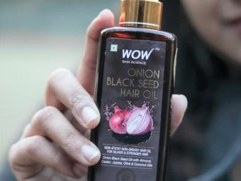 WOW Skin Science Onion Black Seed Hair Oil -It helped in hair regrowth-By anjali_jalan