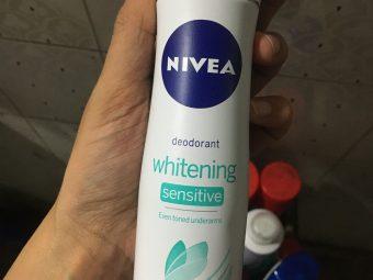 Nivea Whitening Sensitive Deodorant -LOOOOVE this Deo-By jyoti_sn