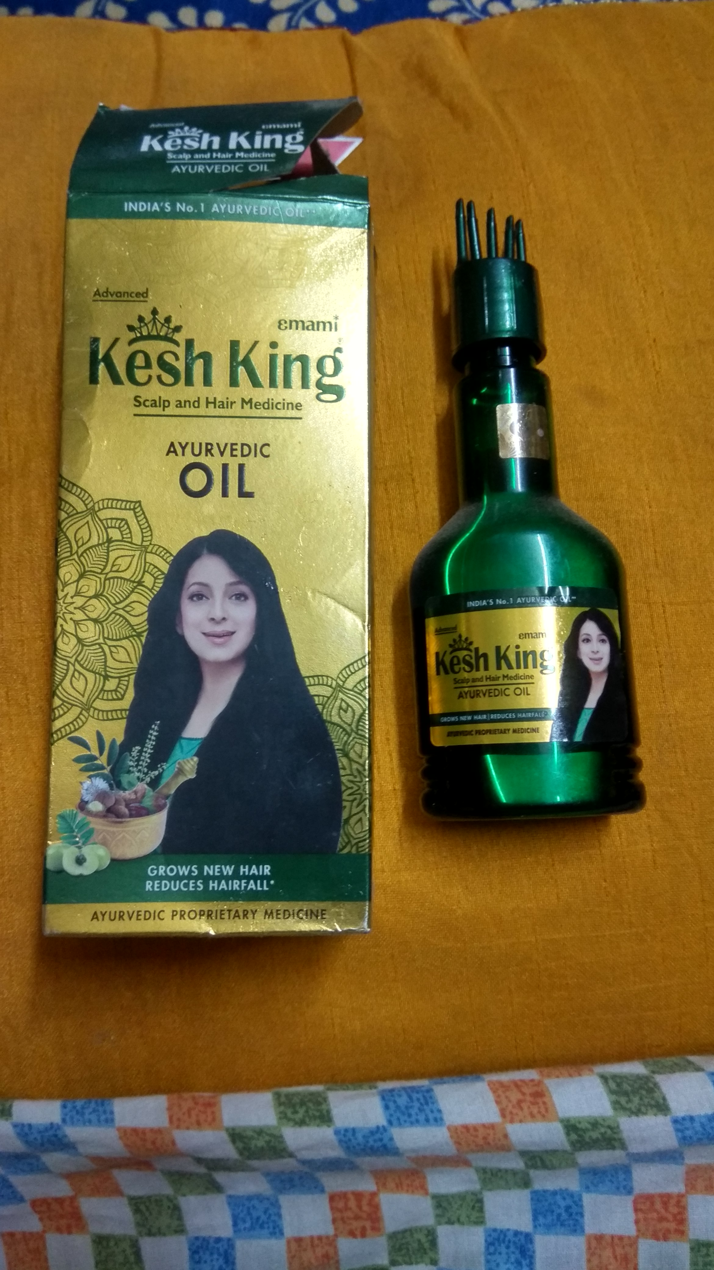 Kesh King Scalp And Hair Medicine Ayurvedic Oil-Kesh King Hair Oil-By thestylishvibe