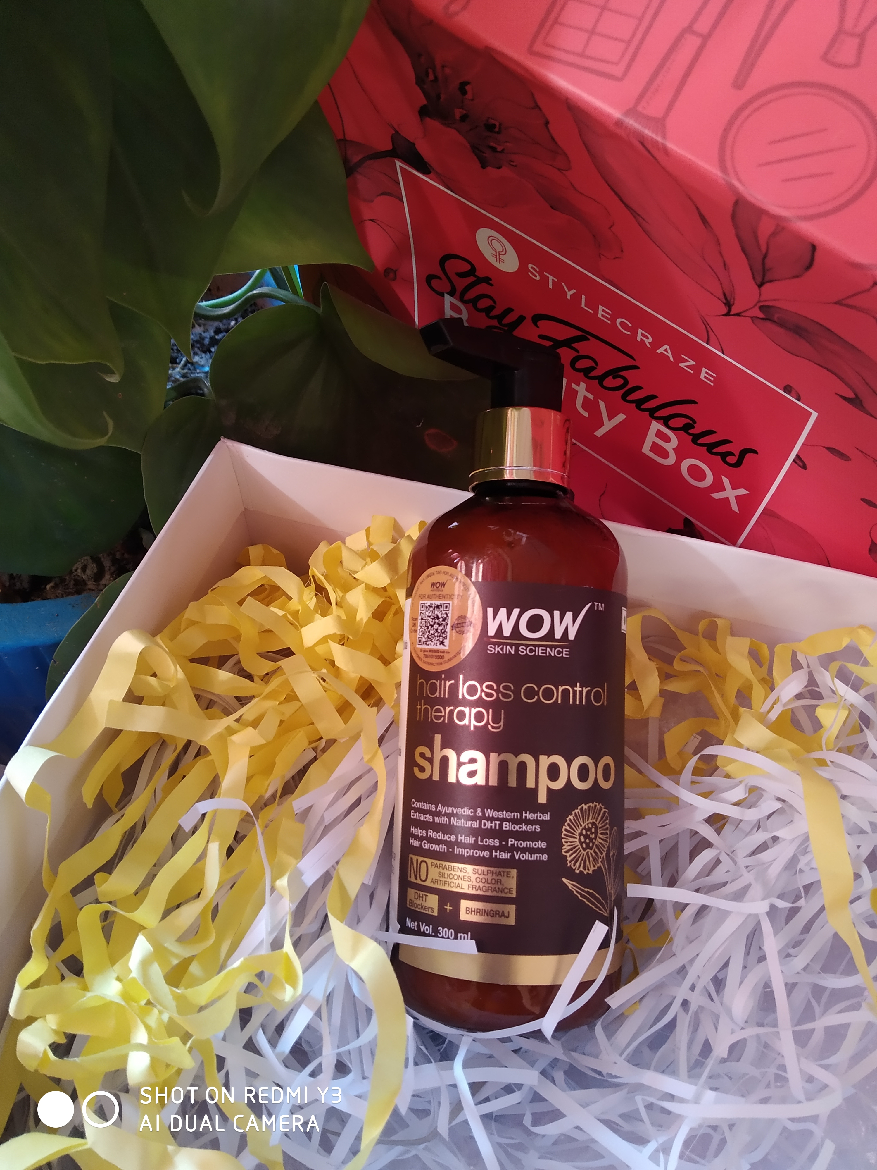Wow Skin Science Hair Loss Control Therapy Shampoo pic 4-Must recommended hair care product.-By ashima21