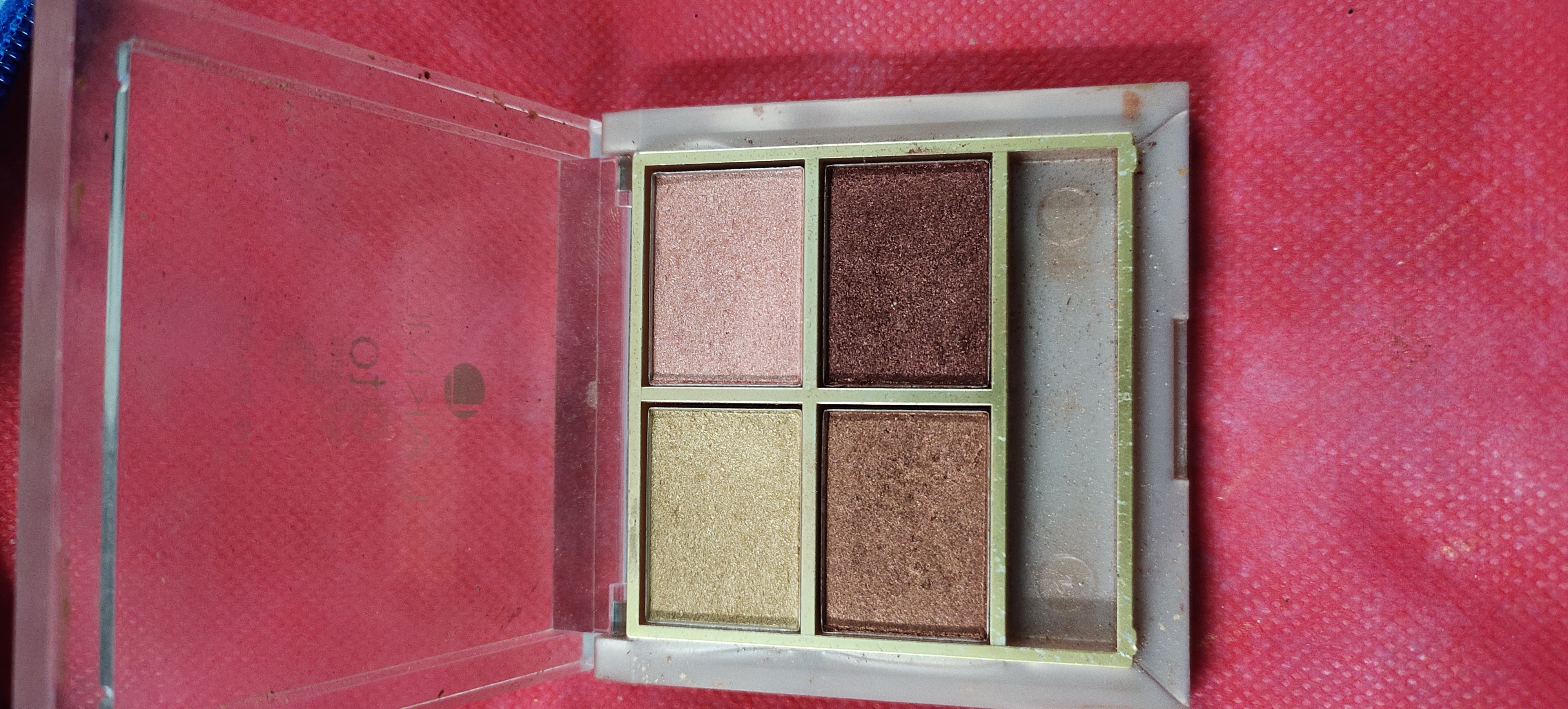 Lakme 9 To 5 Eye Quartet Eyeshadow pic 2-Lakme quartet eyeshadow-By s_a_n_z_0