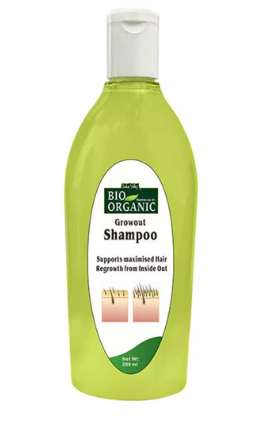 Indus Valley Bio Organic Growout Shampoo For Hair Regrowth And Hair Fall Control -Its good-By nishuuu