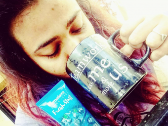 Himalaya Herbals Fresh Start Oil Clear Blueberry Face Wash -My morning routine facewash-By bonhomie_girl_in_the_city