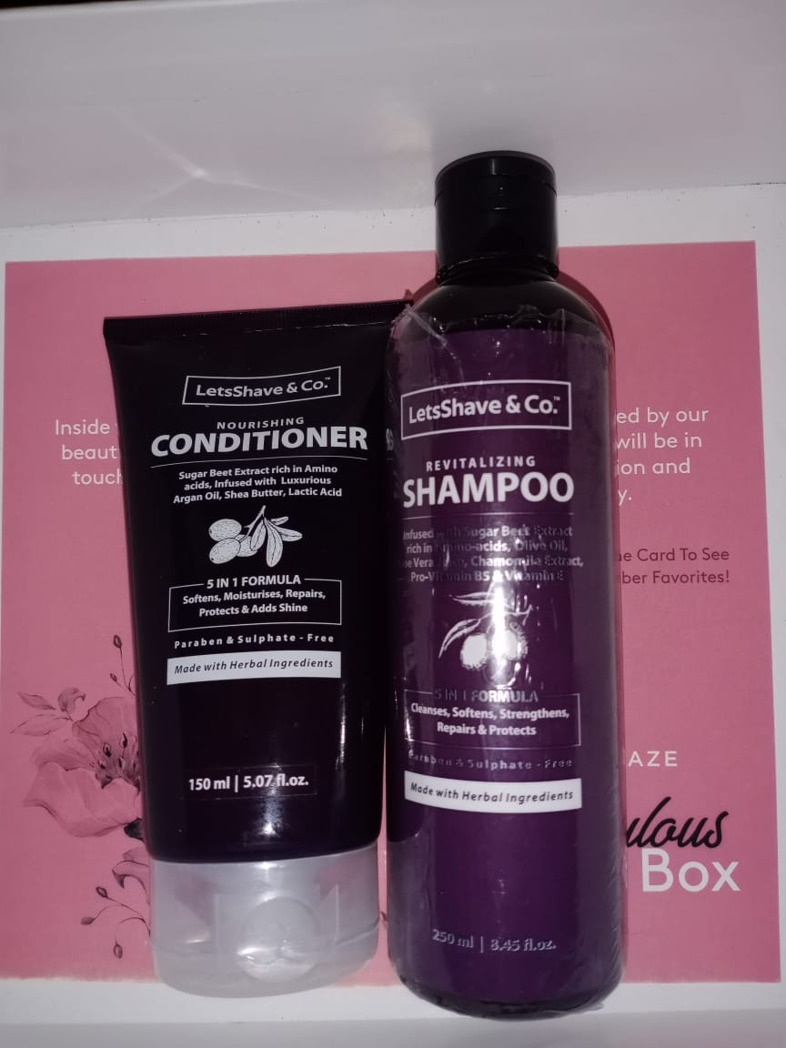 LetsShave Shampoo Conditioner Pack-Perfect Hair Duo-By binalmeghani