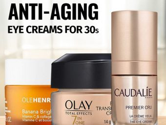10 Best Anti-Aging Eye Creams For 30s