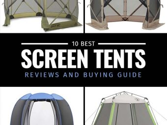 10 Best Screen Tents – Reviews And Buying Guide