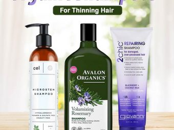 11 Best Organic Shampoos For Thinning Hair