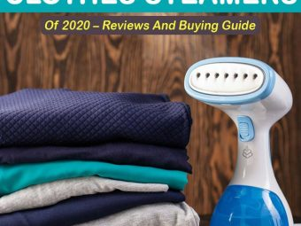 15 Best Clothes Steamers Of 2020 Reviews And Buying Guide