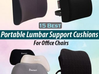 15 Best Portable Lumbar Support Cushions For Office Chairs