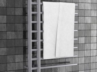 15 Best Wall Mounted Towel Warmers For Your Bathroom