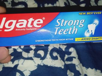 Colgate Strong Teeth Toothpaste pic 3-Most trustworthy product.-By arsh
