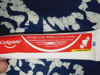 Colgate Strong Teeth Toothpaste pic 2-Most trustworthy product.-By arsh