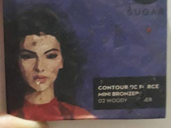 SUGAR Cosmetics Contour De Force Mini Bronzer -Very good product-By aina_aizah_diaries_