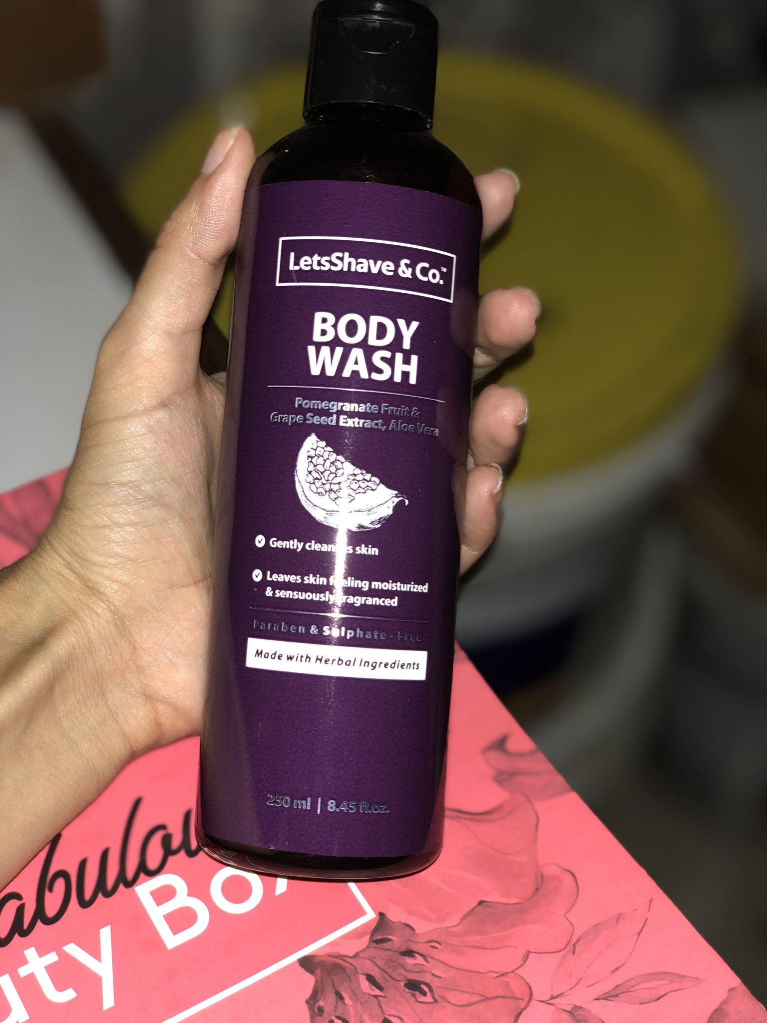 LetsShave Body Wash-Smoothness-By richaapandeyy