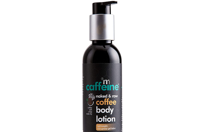 Amcafin Naked & Raw Coffee Body Lotion