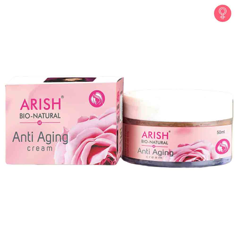 Arish Bionaturals Anti Ageing Cream