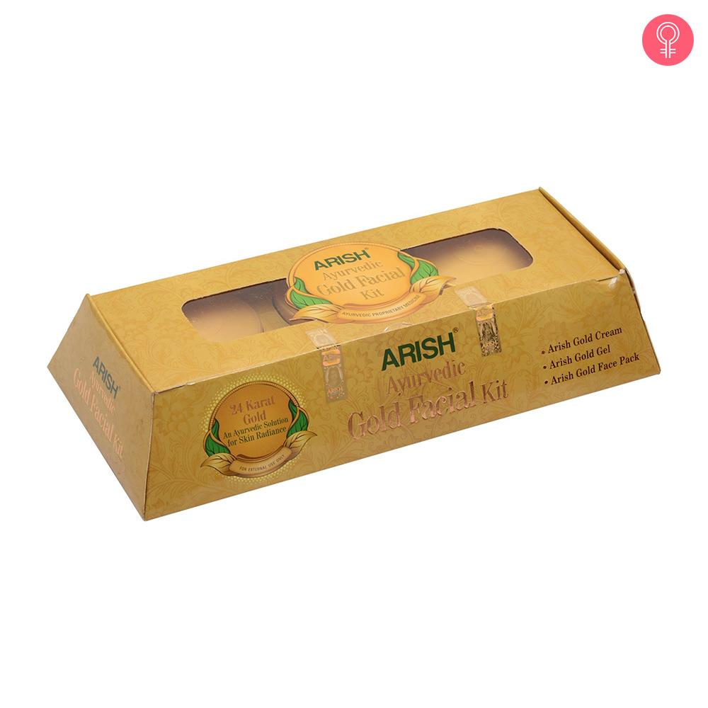 Arish Gold Facial Kit
