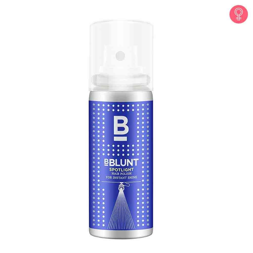BBlunt Mini Spotlight Hair Polish For Instant Shine
