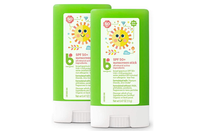 Babyganics Sunscreen Stick