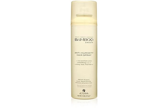 Bamboo Smooth Anti-Humidity Hair Spray
