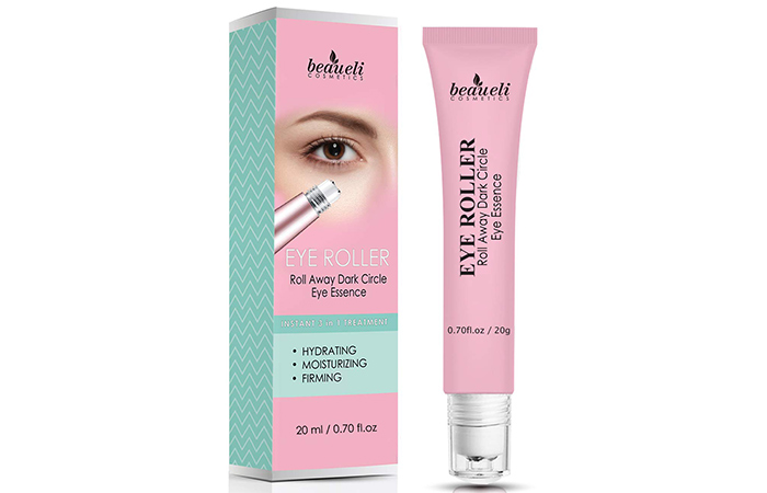 Beaueli 2-in-1 Eye Serum & Eye Roller