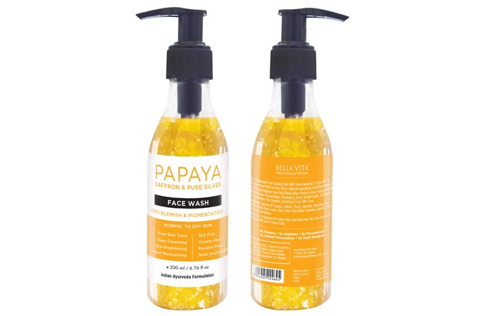 Bella Vita Organic Anti Blemish Pigmentation Removal Face Wash