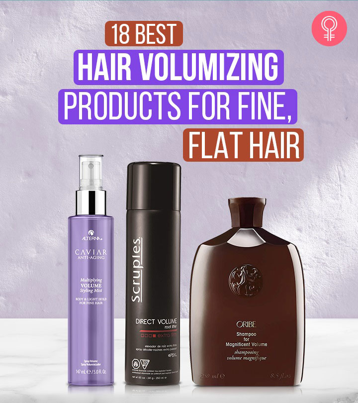 18 Best Hair Volumizing Products For Fine, Flat Hair