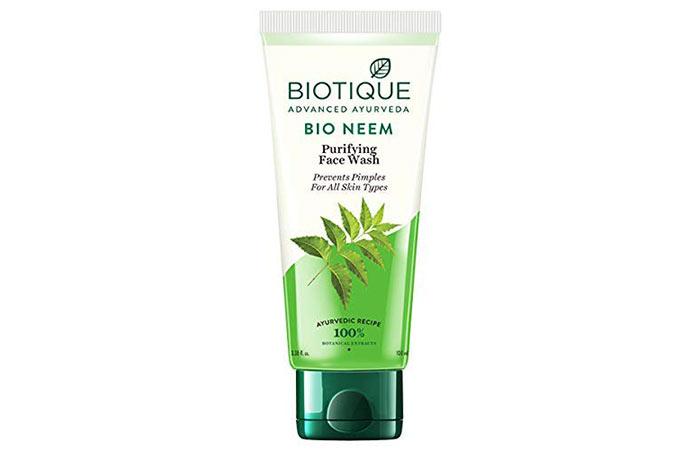 Biotic Advance Ayurveda Bio Neem Purifying Face Wash