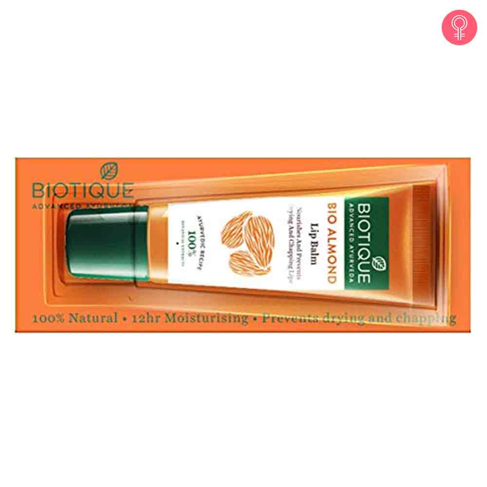 Biotique Bio Almond Overnight Therapy Lip Balm