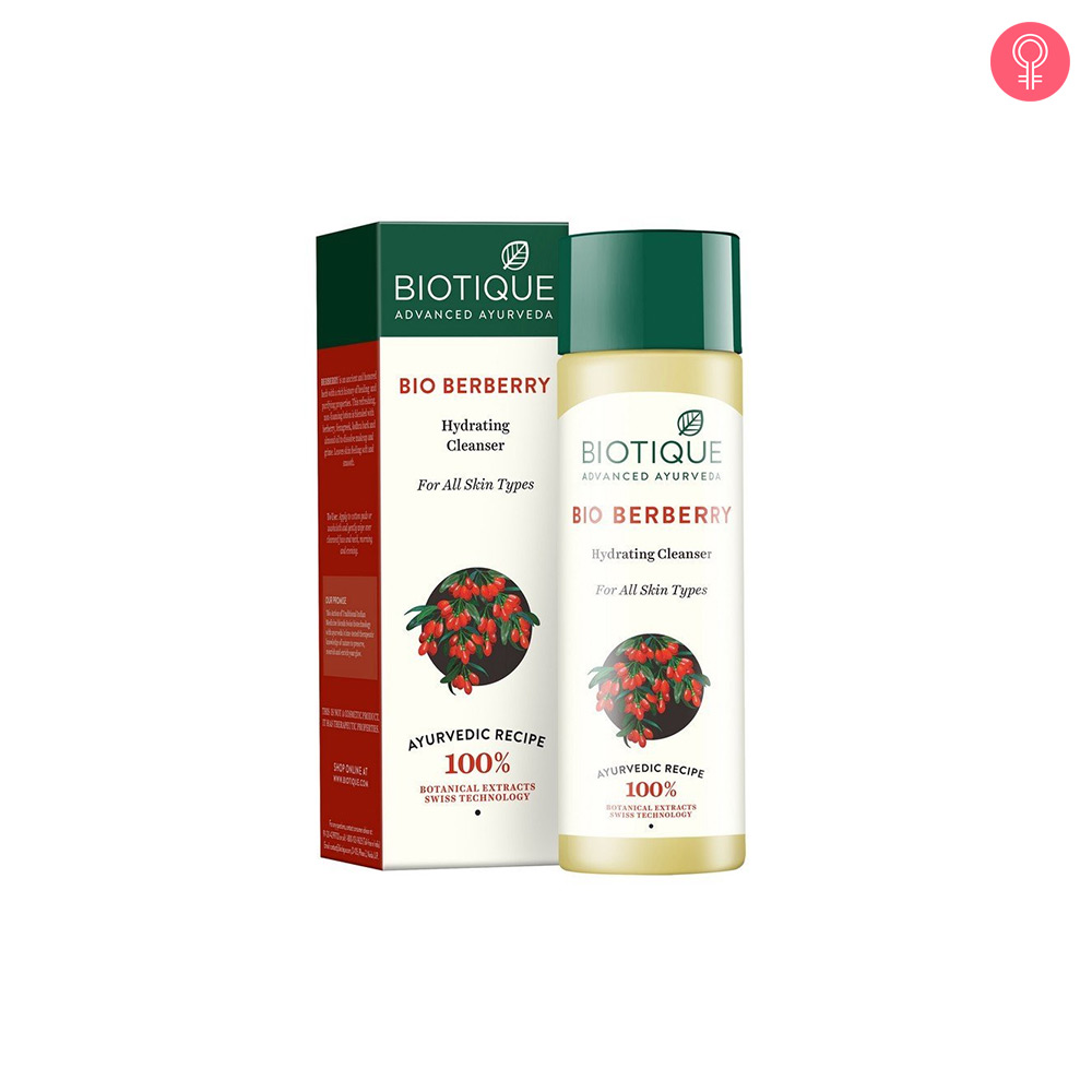 Biotique Bio Berberry Hydrating Cleanser