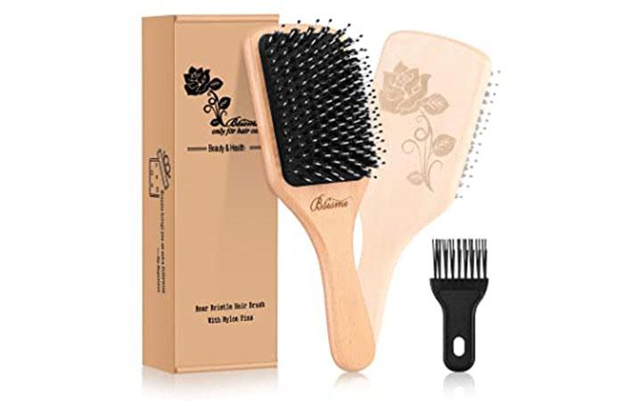 Bsisme Boar Bristle Hair Brush,