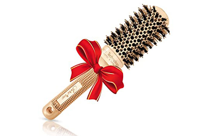 Care Me Round Hair Brush - Nano Technology Ceramic & Ionic