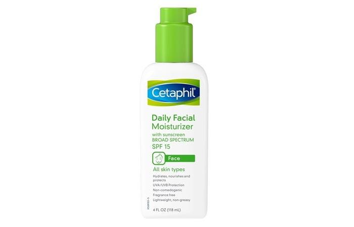 Cetaphil Daily Facial Moisturizer With SPF