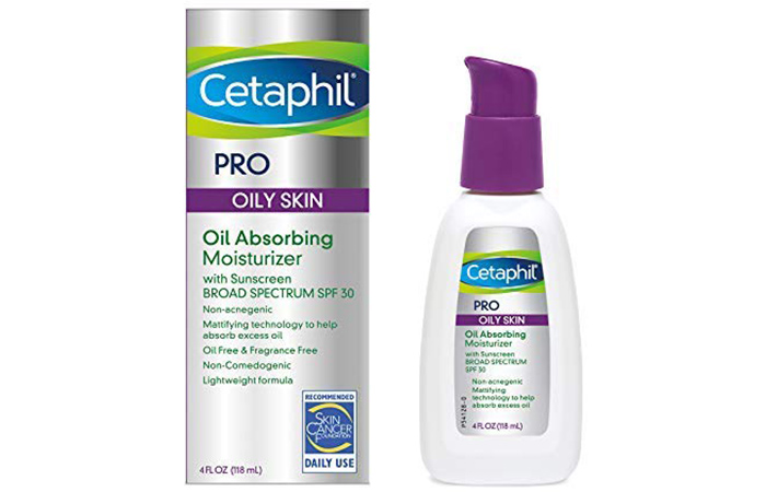 Cetaphil Moisturizer For Acne-Prone Skin With Sunscreen