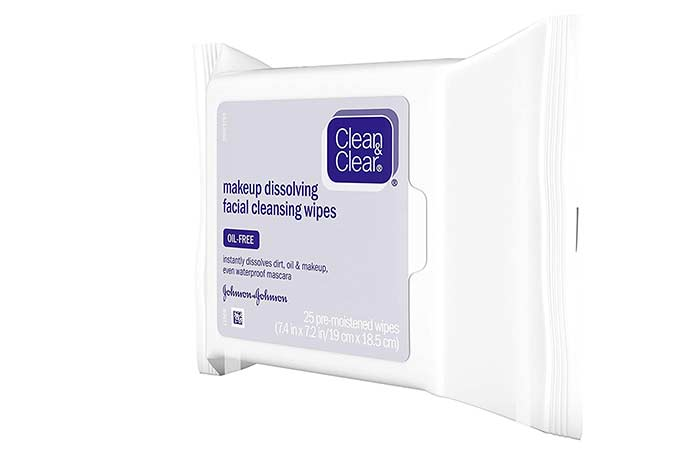 Clean & Claire Makeup Desolating Facial Cleansing Wipes