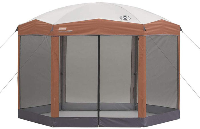 Coleman Back Home™ Instant Screenhouse Canopy Tent