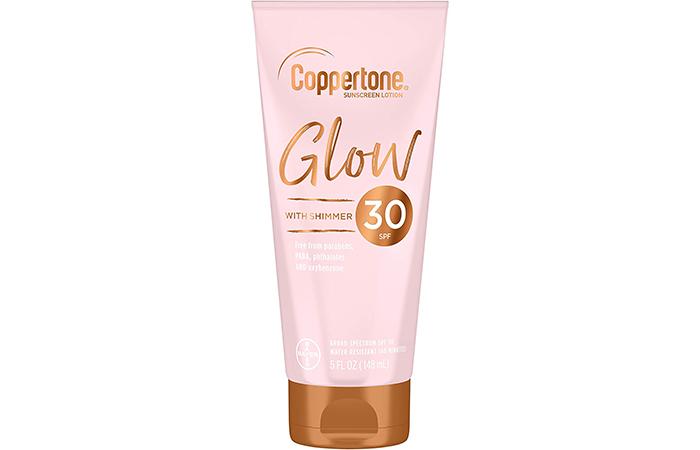 Coppertone Glow Hydrating Sunscreen