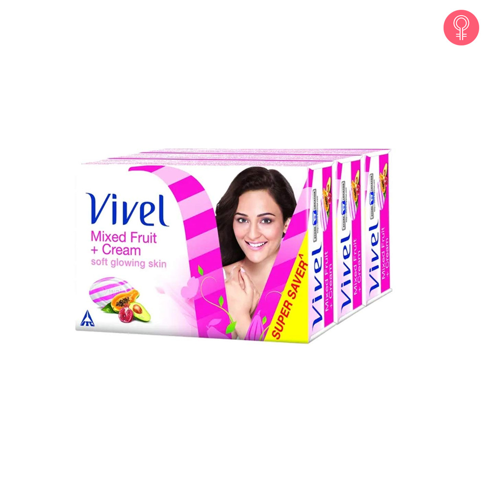 Vivel Mixed Fruit And Cream Soap