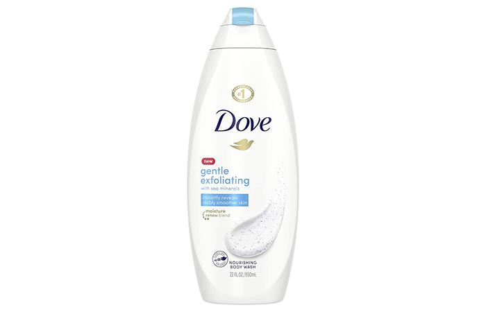 DOVE Gentle Exfoliating Body Wash