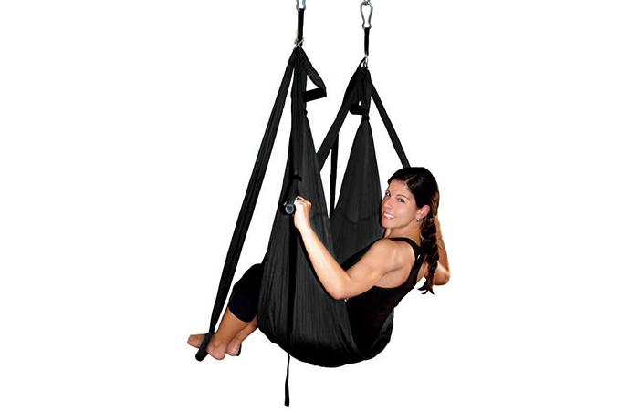 Deluxe Aerial Hammock Yoga Swing