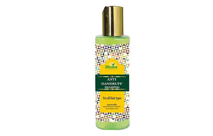 Divine India Anti-Dandruff Herbal Shampoo