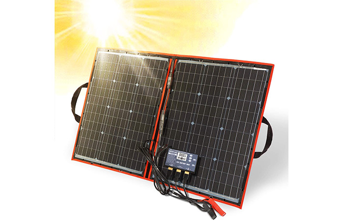 Dokio Folding Solar Panel Kit
